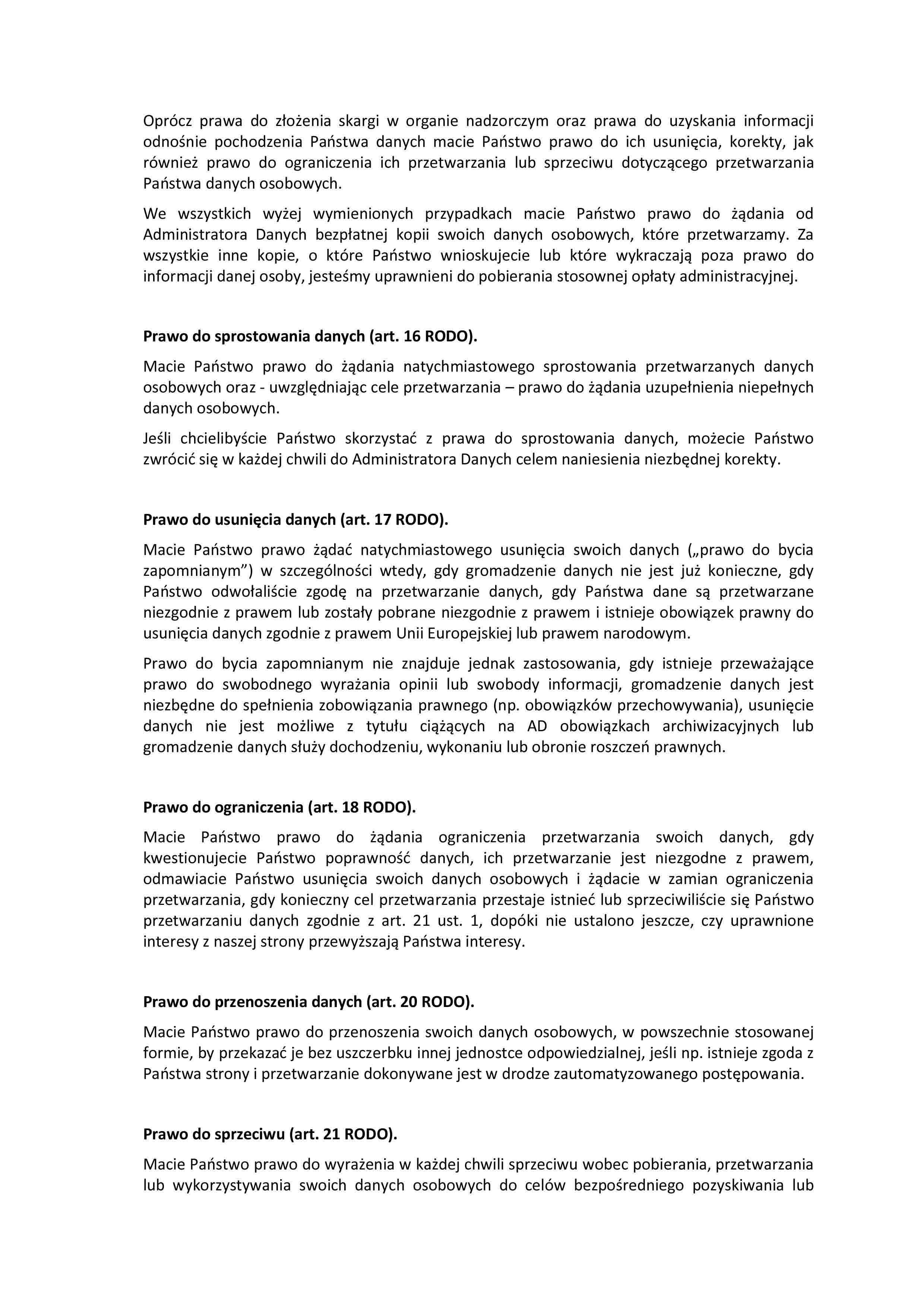 Oświadczenie dotyczące ochrony danych-2